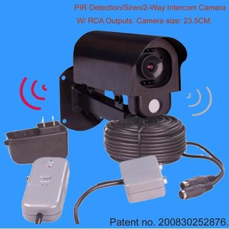 摄像机对讲接线图